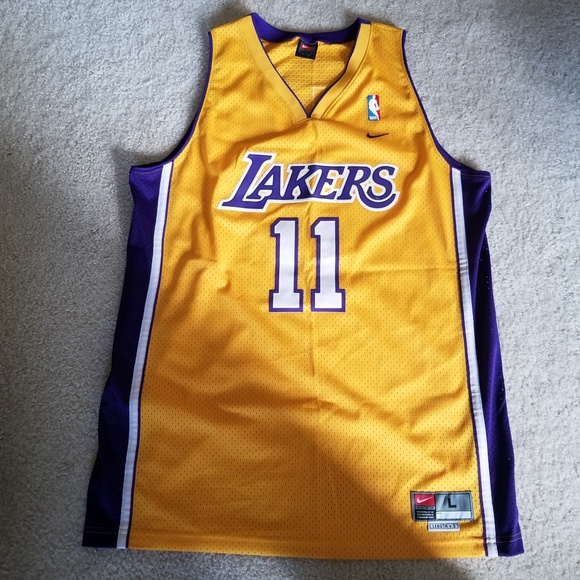 Nike Karl Malone Lakers Jersey